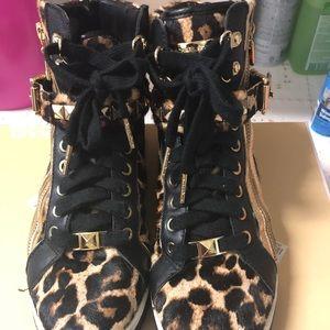 Michael Kors Cheetah High tops
